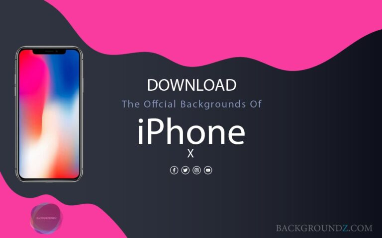 Download Official iPhone X Backgrounds with a Direct Link