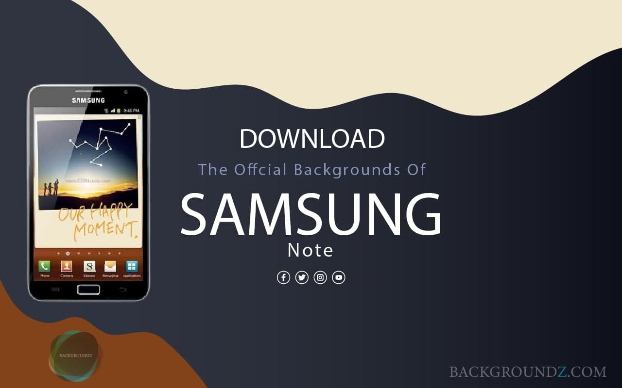 Best Official Samsung Galaxy Note Backgrounds