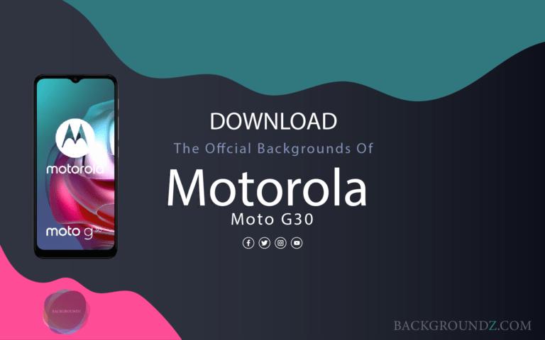 Download Official Motorola Moto G30 Backgrounds