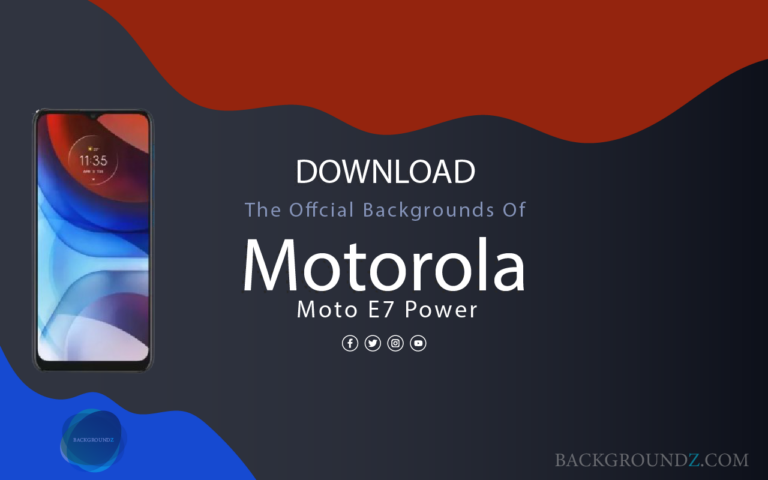 Motorola Moto E7 Power Backgrounds