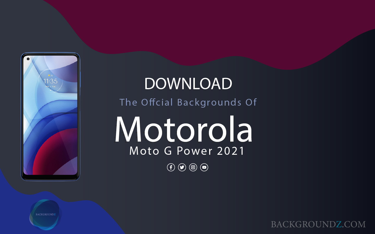 Best Official Motorola Moto G Power 2021 Backgrounds