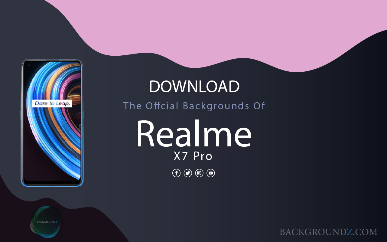 Best Official Realme X7 Pro Backgrounds