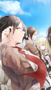 girl of Attack On Titan Backgrounds, Anime Backgrounds 2021