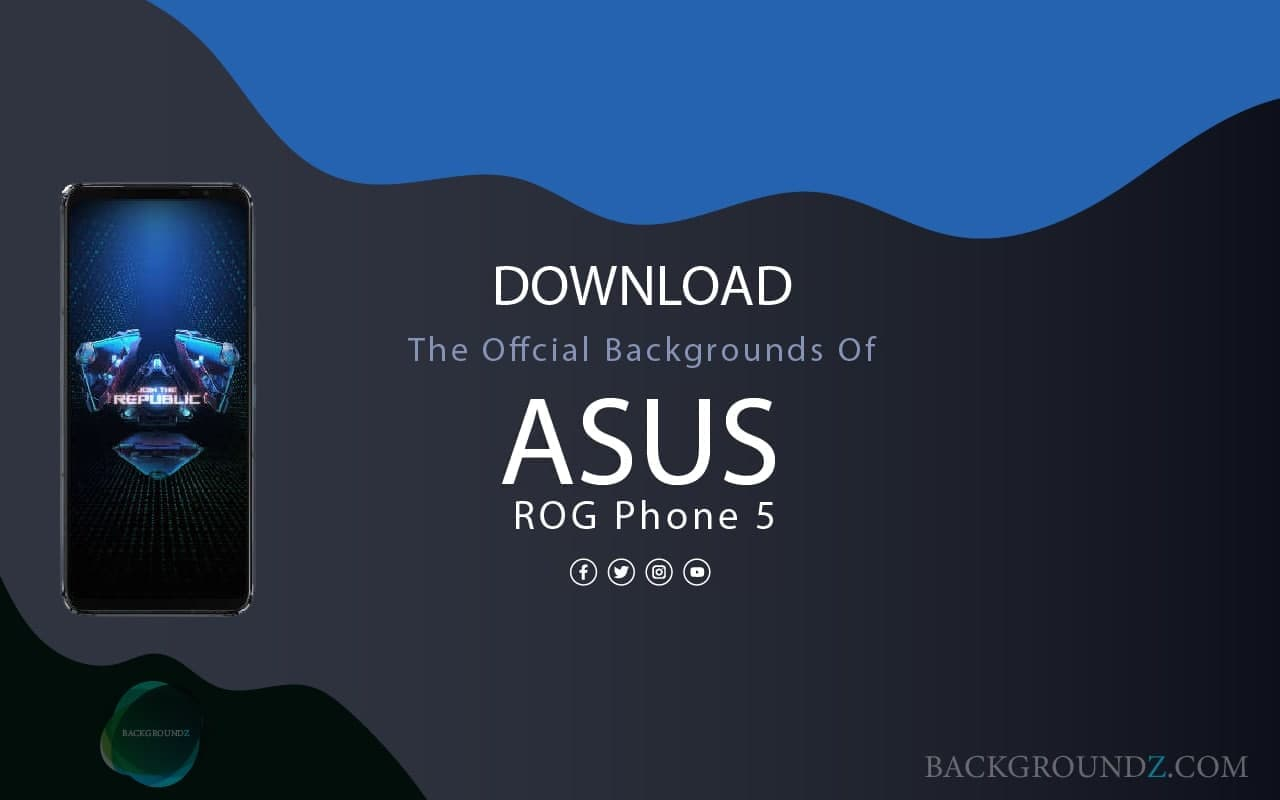 Best Official Asus ROG Phone 5 Backgrounds