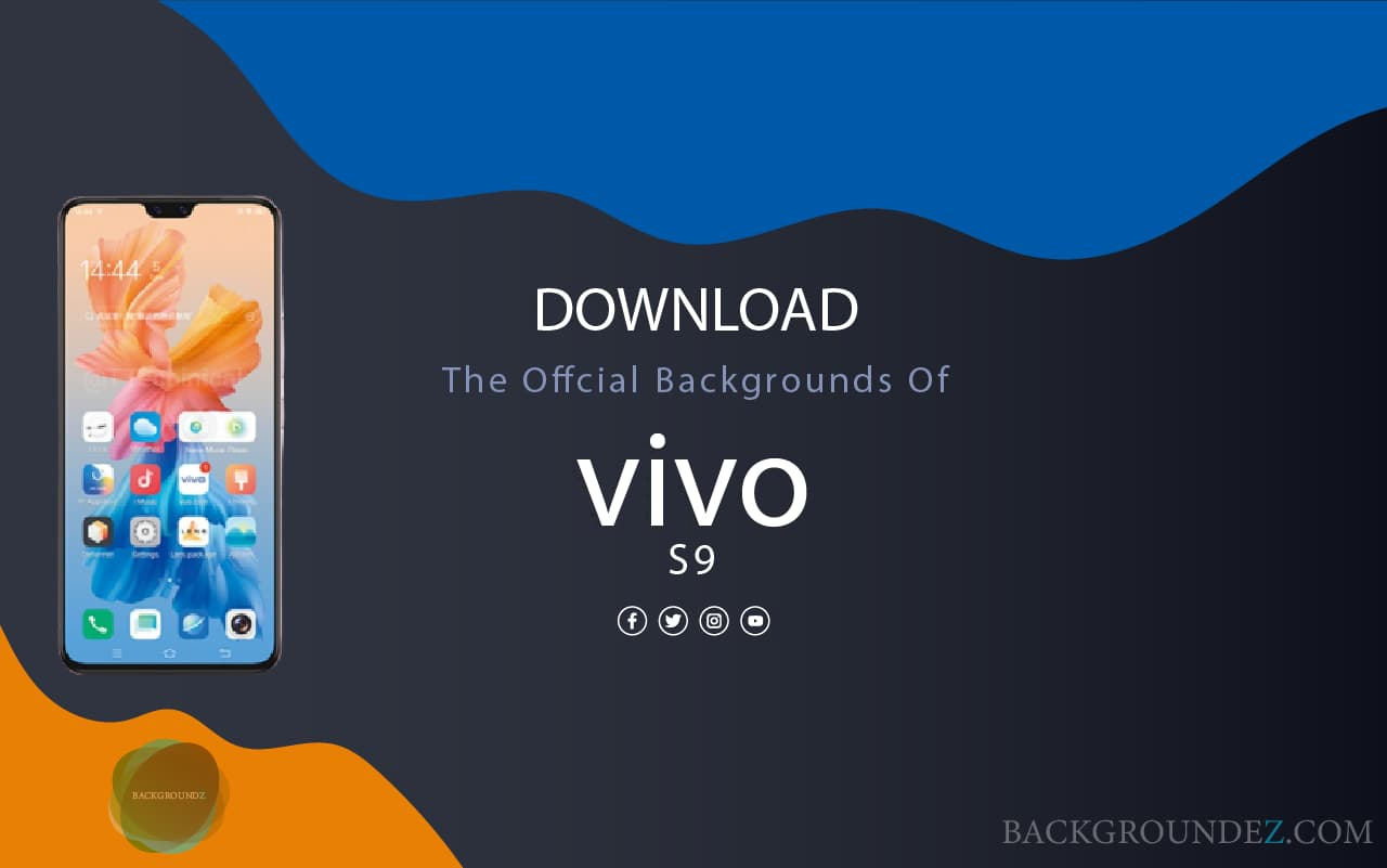 Best Official Vivo S9 Backgrounds