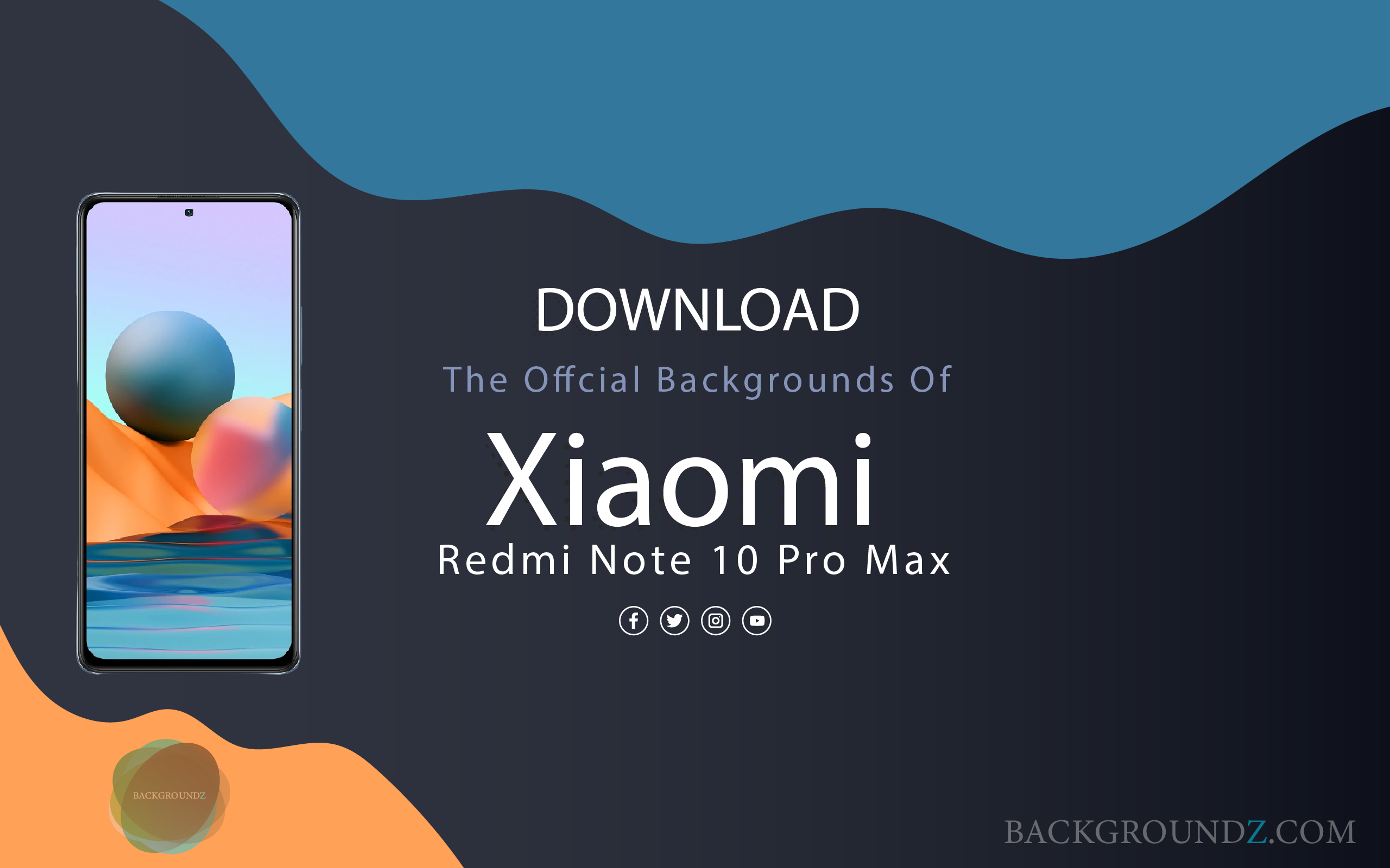 Best Official Xiaomi Redmi Note 10 Pro Max Backgrounds