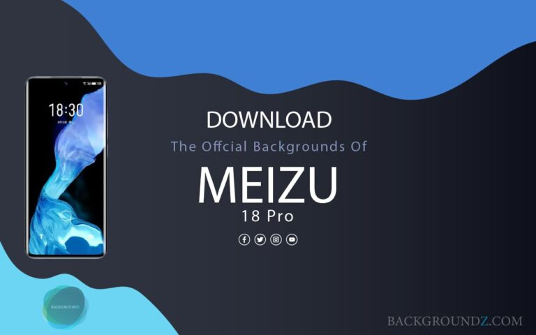 Official Meizu 18 Pro Backgrounds