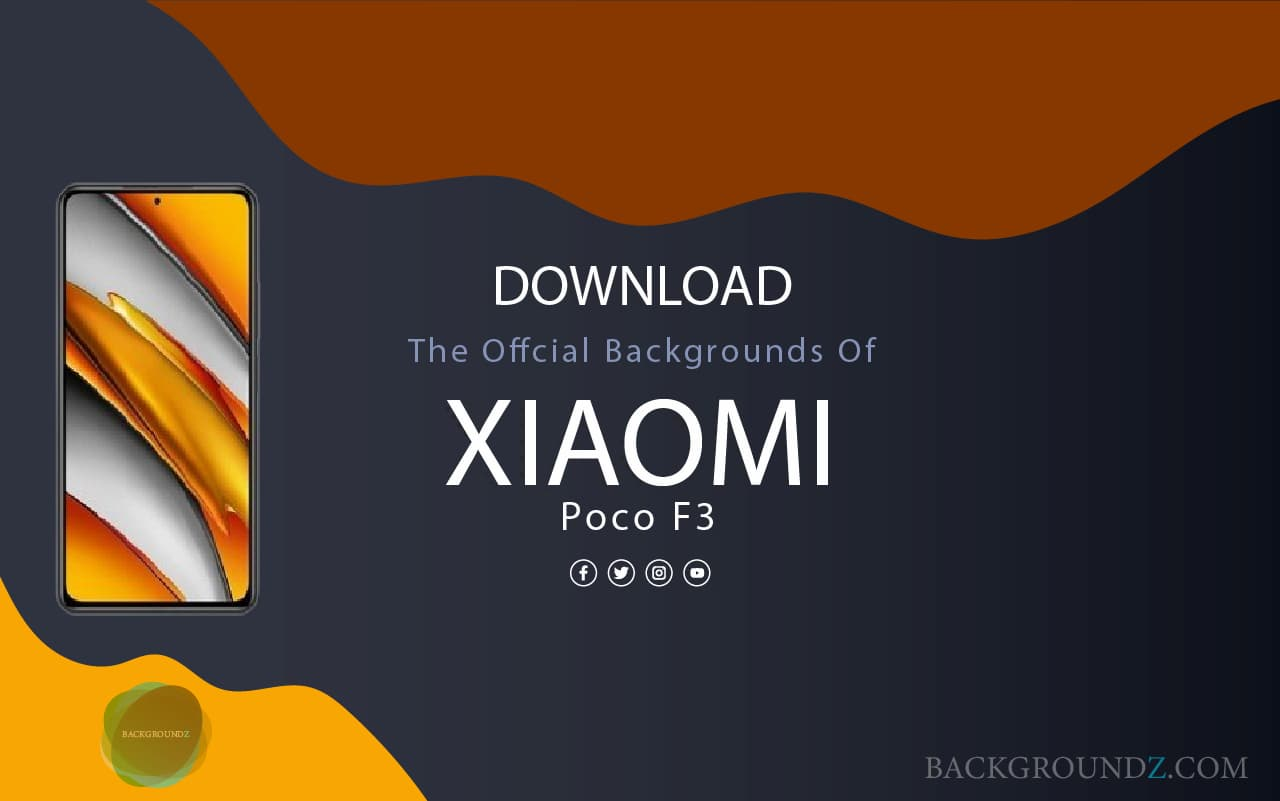 Best Official  Xiaomi Poco F3 Backgrounds