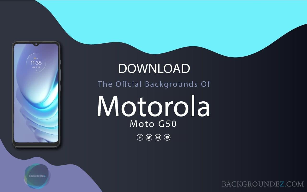 Best Official  Motorola Moto G50 Backgrounds