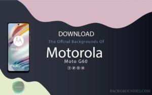 Best Official  Motorola Moto G60 Backgrounds