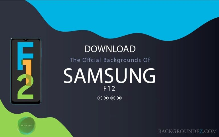 Best Official Samsung Galaxy F12 Backgrounds