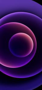 iPhone 12 Purple Wallpapers