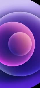 iPhone 12 Purple backgrounds