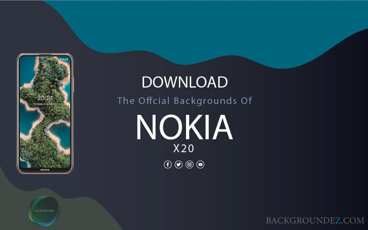 Best Official Nokia X20 Wallpapers