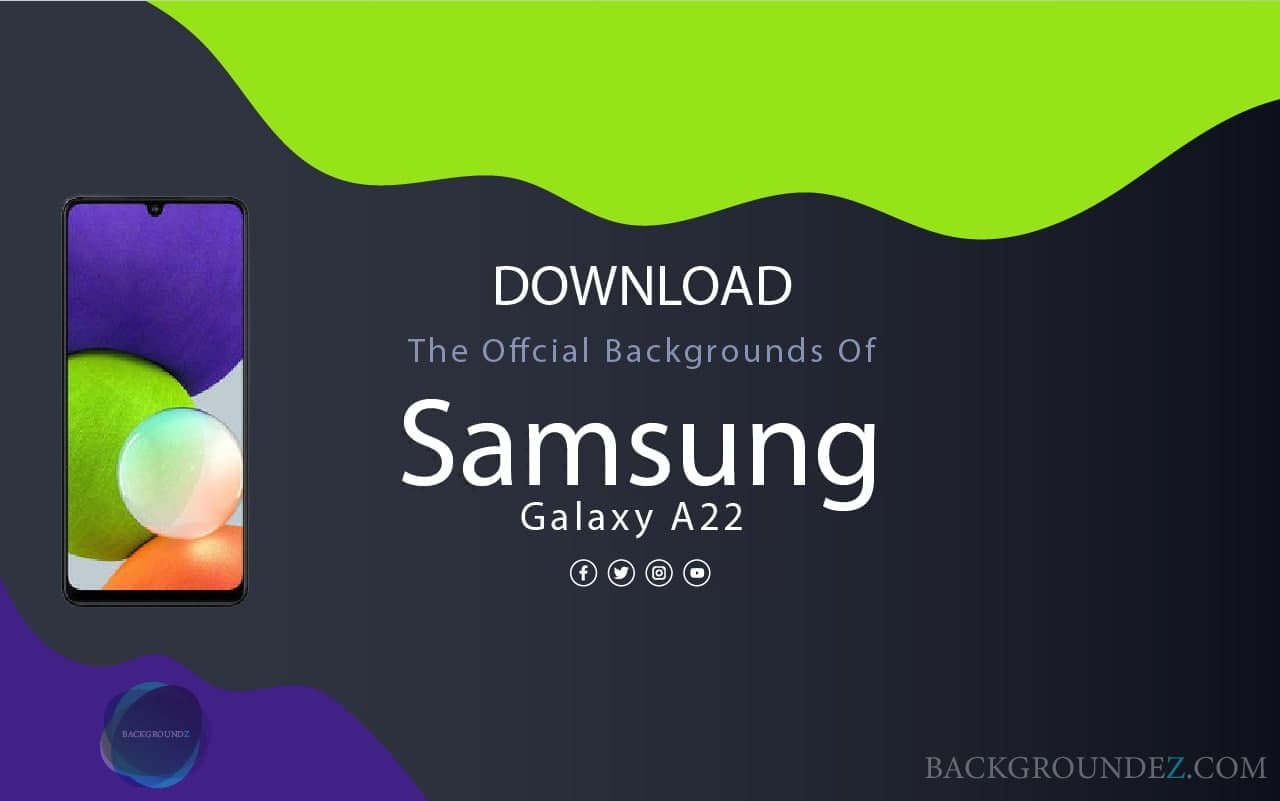 Samsung Galaxy A22 Wallpapers