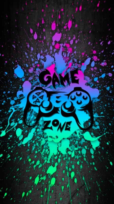 Cool Gaming background 4K
